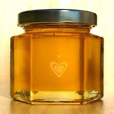جار شیشه ای مدل شش گوش | بسته بندی زیبای عسل