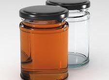 خرید جار شیشه ای عسل