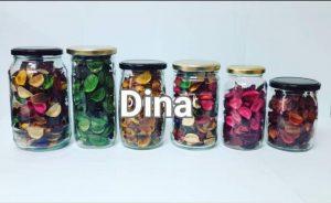 انواع ظروف شیشهای