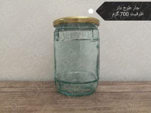 جار شیشه ای