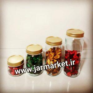 جار شیشه ای استوانه ای با قیمت مناسب و بهترین کیفیت